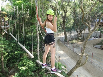 Tree Top Rope Course A