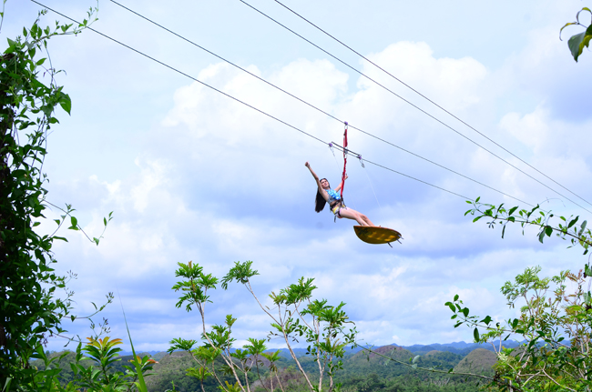 The Wave Runner Surf Zipline
