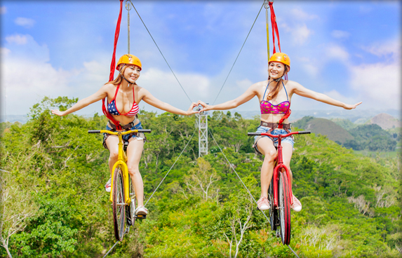 The Rush Bike Zipline (Single)